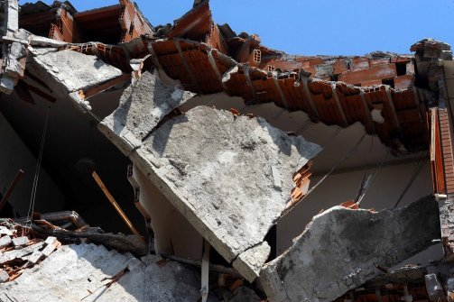 Seventeen people are now known to have died and another 350 were hurt in the 5.8 magnitude earthquake that hit northern Italy yesterday