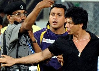 Shah Rukh Khan may be banned from entering Mumbai's Wankhede Stadium after reports that he was involved in a brawl with the staff