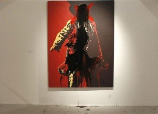 South Africa's ruling party is going to court to have the controversial painting of President Jacob Zuma with his genitals exposed removed from public view