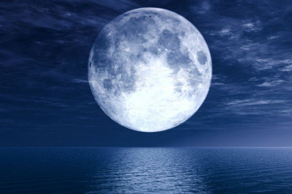 Supermoon has graced the skies, appearing bigger and brighter than usual, as it comes closer to the Earth