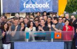 The NASDAQ exchange saw Facebook shares jumping more than 10 percent within minutes of making their stock market debut