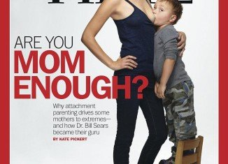 The latest cover of Time magazine has caused outrage after Jamie Lynne Grumet has been pictured breastfeeding her 4-year-old son