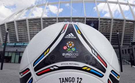 "Ukraine denounces a threatened EU boycott of next month's Euro 2012 football championship as ""destructive"""