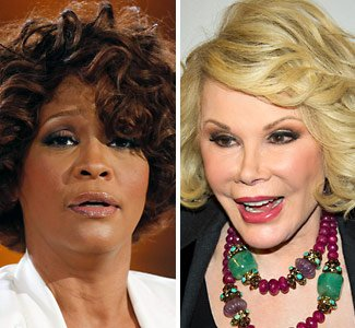 Veteran comedian Joan Rivers believes it isn't too soon to joke about Whitney Houston in her grave