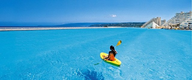 crystal lagoons description chile biggest pool photo
