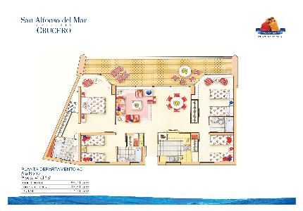 crystal lagoons room452 1 two bedroom apartment san alfonso del mar