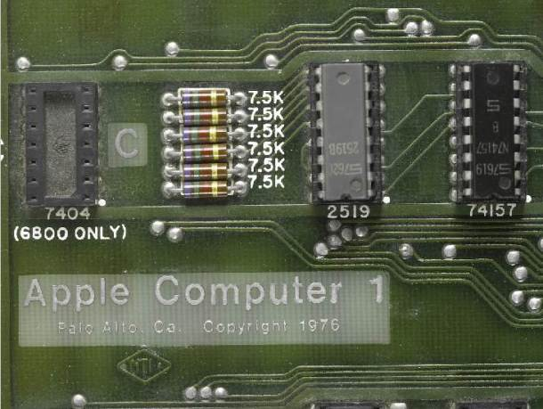 A rare functioning Apple 1 computer, the company's first product, has been sold at a New York auction for $374,500