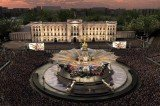 An A-list concert, which will be held in front of Buckingham Palace later today, will mark the Queen's Diamond Jubilee