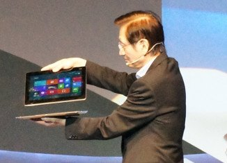 Asus has presented Transformer Book, its Windows 8-based laptop-tablet hybrid device, in Taipei