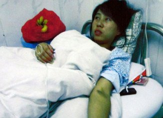 Because Feng Jianmei already had a child, she said, local birth-control authorities ordered her to pay a fine of $6,500
