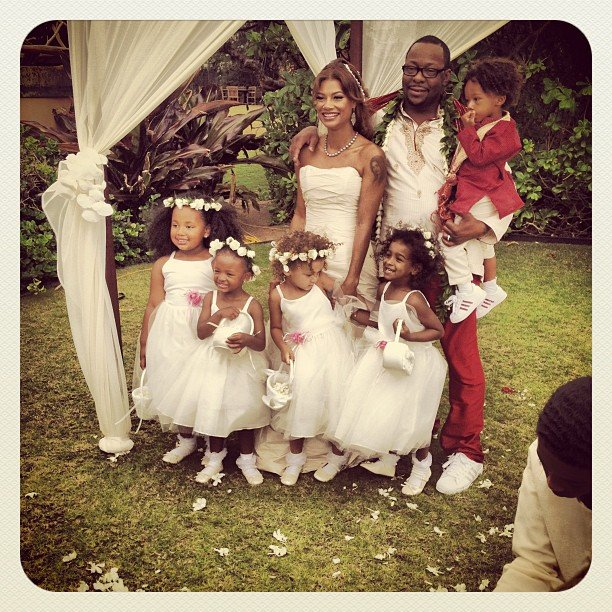 Bobby Brown has married his manager Alicia Etheridge on Monday in a small ceremony in Hawaii