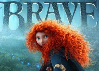 Brave, the latest animated feature from Disney Pixar, makes its debut at number one in the US box office chart
