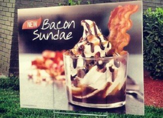 Burger King introduces the limited-time dessert Bacon Sundae today as part of its new summer menu