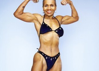 Ernestine Shepherd is the world's oldest female bodybuilder at 75