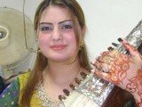 Ghazala Javed and her father were killed when gunmen on a motorcycle opened fire on them late on Monday