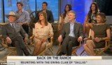 Linda Gray outshone her younger new female co-stars during an appearance on The Today Show yesterday to promote the new Dallas reboot