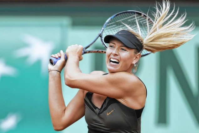 Maria Sharapova blasted her way to victory over Italian Sara Errani in the French Open final to become only the 10th woman to complete a career Grand Slam