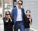Mary-Kate Olsen and her new boyfriend Olivier Sarkozy enjoyed a day out in New York with his young daughter last Thursday