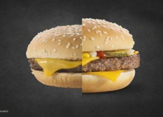 McDonald's has created a short video to show customers how they prepare their tasty meals for an advertising photo shoot
