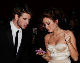 Miley Cyrus announces that she is engaged to The Hunger Games actor Liam Hemsworth