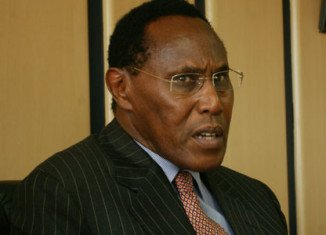 Officials say George Saitoti and his deputy, Orwa Ojode, have been killed when the aircraft went down west of Nairobi, bursting into flames as it hit the ground