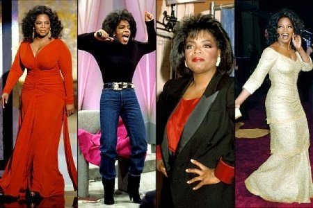 Once rakishly thin in 1988 Oprah Winfreys weight has been a yo yo ever since not helped by a thyroid problem diagnosed in 2008 that caused the scales to soar to 200 lbs photo