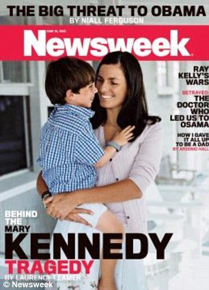 Portions of the 60-page confidential divorce affidavit filed in 2011, which includes shocking claims that Mary Kennedy was physically abusive towards Robert, were disclosed in Newsweek magazine's cover story