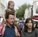 Prime Minister David Cameron and his wife, Samantha, left their eight-year-old daughter, Nancy, in a pub after having Sunday lunch, Downing Street has confirmed