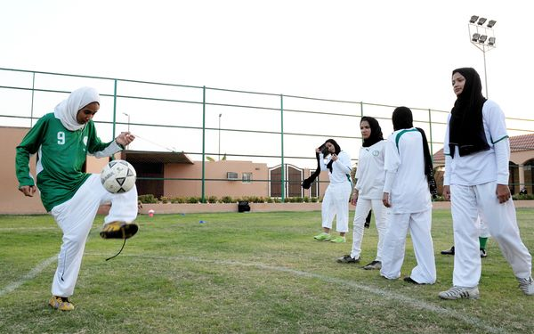 Saudi Arabia has decided to allow its women athletes to compete in the Olympic Games for the first time photo