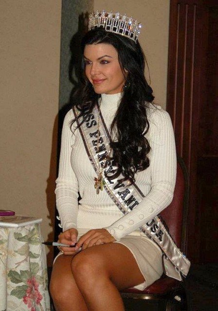 Sheena Monnin this year Miss Pennsylvania has sensationally resigned from her position claiming that the weekends Miss USA 2012 pageant was rigged 448x640 photo