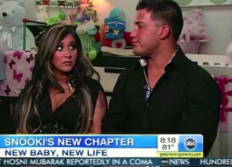 Snooki, 24, told JuJu Chang that they will be calling their little guido, Lorenzo