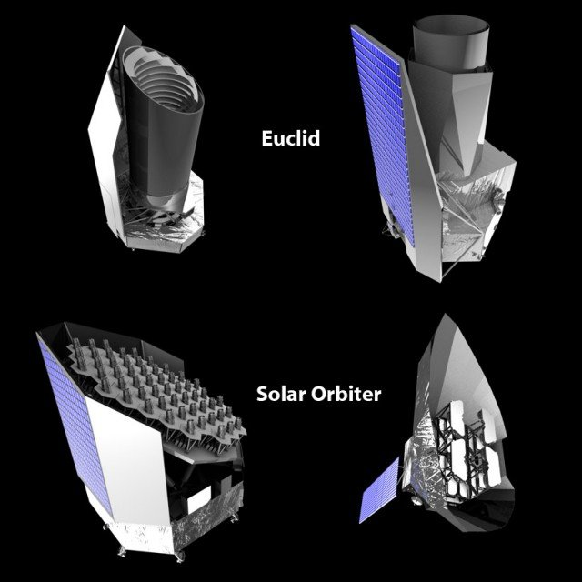 The Euclid telescope will look deep into the cosmos for clues to the nature of dark matter and dark energy