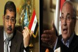 The Muslim Brotherhood's Mohammed Mursi ran in Sunday's poll against Ahmed Shafiq, who served as prime minister under former President Hosni Mubarak