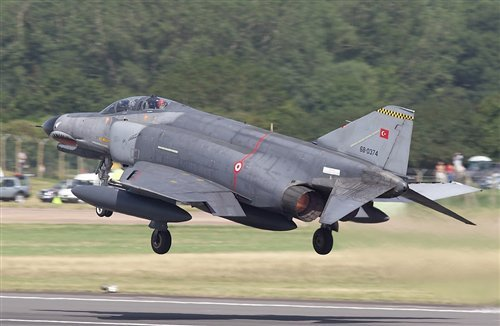 The Syrian military has confirmed that it shot down Turkish warplane F 4 Phantom flying in airspace over Syrian waters photo