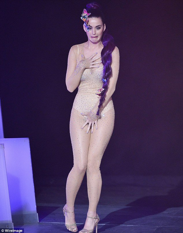 katy perry s bodysuit was too revealing at the muchmusic
