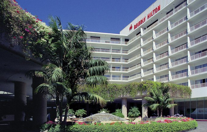 Two people were found dead Friday night at the Beverly Hilton Hotel where the 39th Daytime Entertainment Emmy Awards are scheduled to take place on Saturday