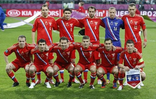 UEFA gives a suspended six-point deduction to Russia because of the behaviour of their fans during their 4-1 win against Czech Republic at Euro 2012