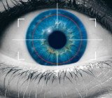 A team at the Universidad Autonoma de Madrid was able to recreate the image of an iris from digital codes of real irises stored in security databases