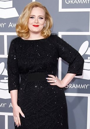 Adele who kept her pregnancy under wraps until the last minute has said she is due to give birth in two months photo