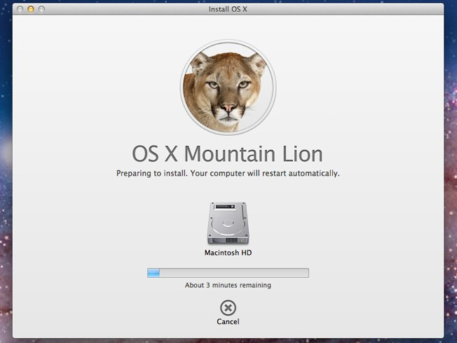 Apple has announced that OS X Mountain Lion, the latest version of its Mac operation system, will be released on Wednesday
