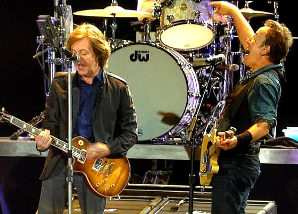 Bruce Springsteen and Sir Paul McCartney had the plug pulled on them after over-running at Hard Rock Calling in London's Hyde Park