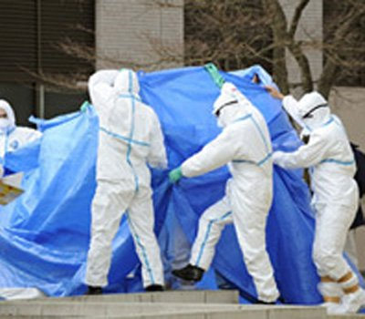 Build Up a subcontractor for plant operator Tepco admitted one of its executives told workers to put lead shields on radiation detection devices photo