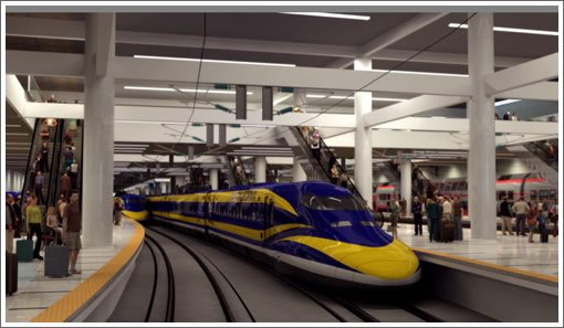 California lawmakers have approved financing for a bullet train that would eventually become part of the first dedicated high-speed line in the US