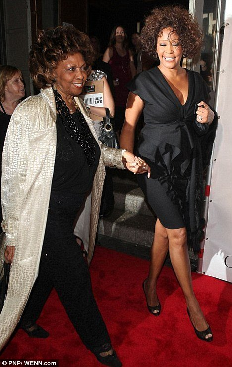 Cissy Houston is in Los Angeles to pay tribute to her late daughter, Whitney Houston, at today's BET Awards
