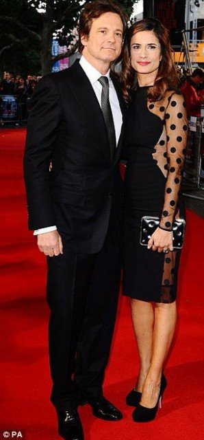 Colin and Livia Firth appeared as a single entry at number six on the Vanity Fair International Best Dressed List