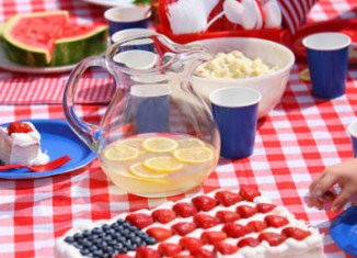 Conjure up your inner patriotism with red, white, and blue outdoor accessories to make the most out of your Independence Day-ready essentials