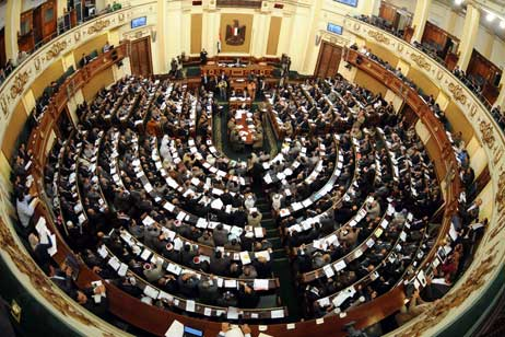 Egyptian parliament has briefly convened, despite the ruling military council ordering it to be dissolved