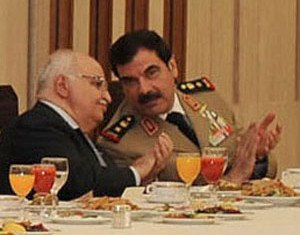 General Assef Shawkat was a top security chief and Bashar al-Assad's brother-in-law