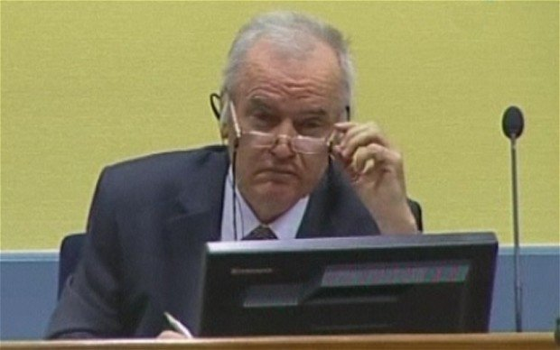 General Ratko Mladic is charged with 11 counts of war crimes and crimes against humanity