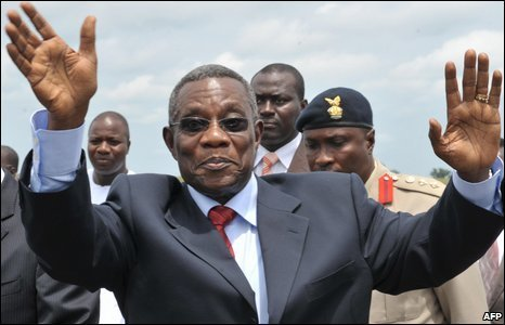 Ghana's President John Atta Mills has died from throat cancer aged 68